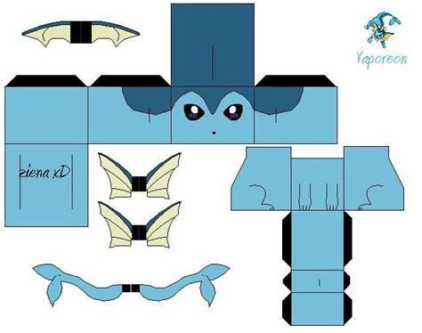 Vaporeon Papercraft - vaporeon zxd by zienaxd on deviantart