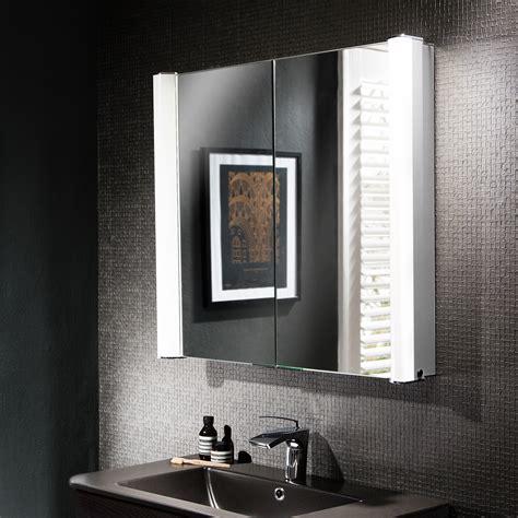 Duo 800mm Illuminated Mirror Cabinet Lavo Bathrooms And Bathroom Accessories Cape Town