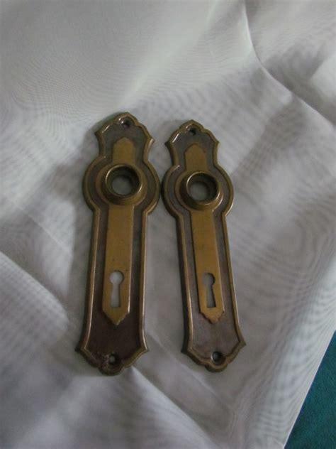 Door Knob Backplates by Vintage Door Knob Backplates 1 Set Of 2 By Atticandbarntwo