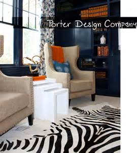 orange and blue home decor post contemporary modern living room blue orange porter design company