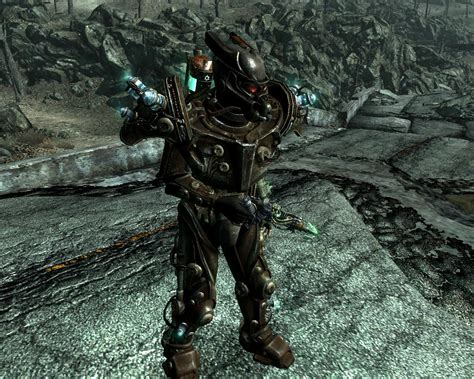 How To Get The Gannon Family Tesla Armor Armor Tex Enclave N Tesla At Fallout3 Nexus Mods And