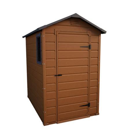 abri de jardin castorama resine abri de jardin en r 233 sine marron nebraska ep 16 mm 2 m 178 castorama