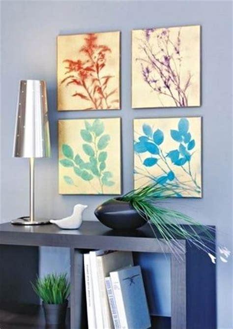 como hacer cuadros caseros cuadros diy inspirados en la naturaleza decoraci 243 n de