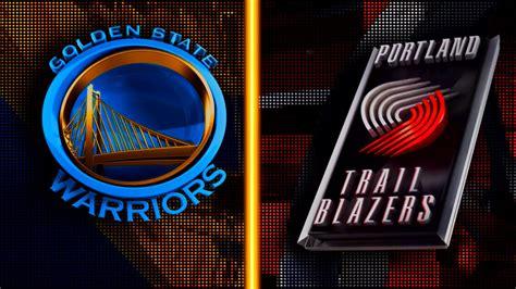 warriors trail blazers ps4 nba 2k16 golden state warriors vs portland trail