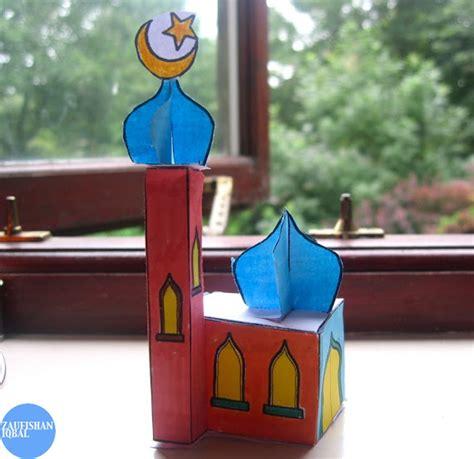 creative mosque crafts    kids   playroom