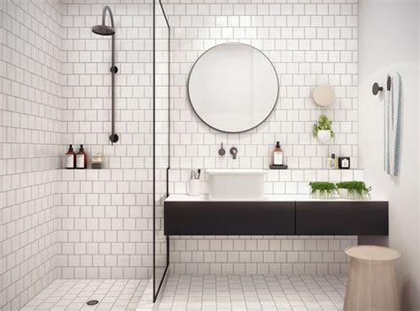 white tile in bathroom versatile subway tile