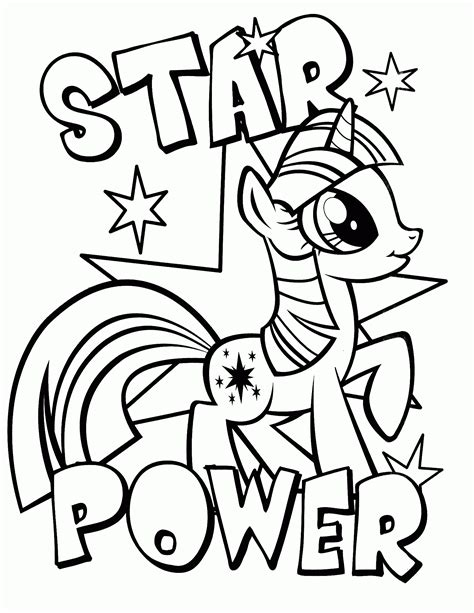 printable coloring pages my pony printable coloring pages pony coloring home