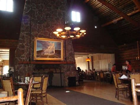 Old Faithful Inn Dining Room by Ile F S Local Photos Yelp