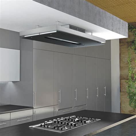 Hottes De Plafond by Airforce Gemma Verre Hotte Plafond Pour La Cuisine