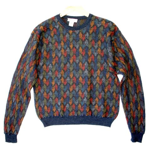 colorful sweaters colorful feathers cosby style sweater the
