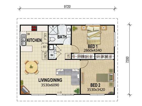 home design for 3 room flat 3 bedroom flat floor plan granny flat plans granny flat
