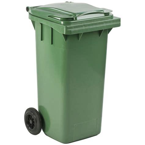 conteneur quot mini quot 120 litres bacs 224 roulettes poubelles cendriers et supports sacs poubelles