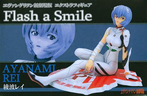 Sega Flash A Smile Ver 1 5 Ayanami Rei buy pvc figures evangelion pvc figure ex flash a smile rei ayanami archonia