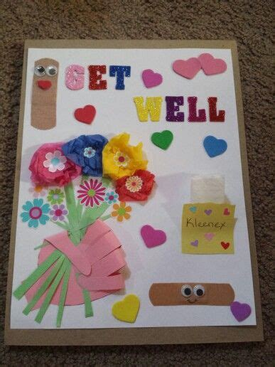 diy get well cards diy get well card gift ideas cards craft and diy cards
