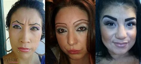 7 With The Worst Makeup by 7 Worst Makeup And Fails Of All Time