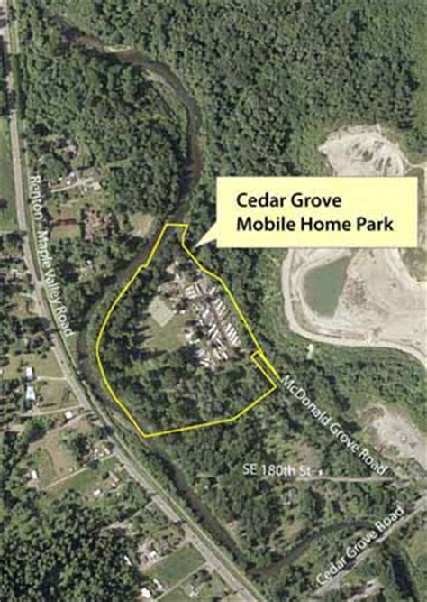 cedar grove mobile home park acquisition king county
