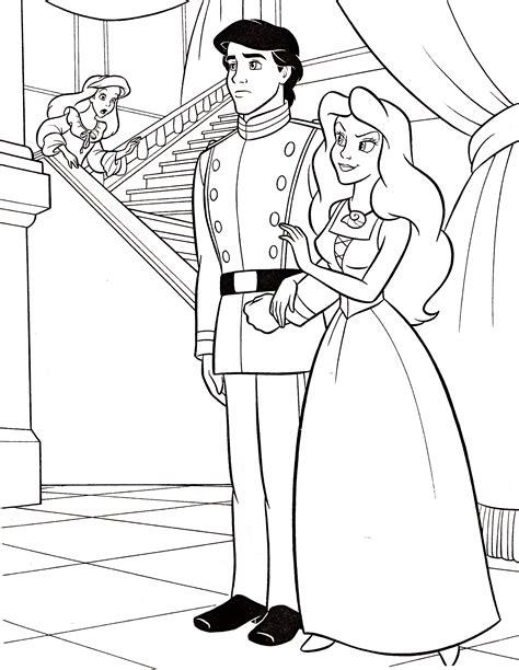 Coloriage Princesse Ariel 224 Imprimer