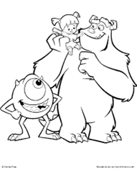 Monsters Inc Coloring Pages Pdf | top 84 monsters inc new coloring pages free coloring page