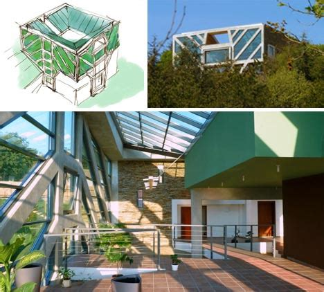 home designs and architecture concepts tree inspired house has green canopy geothermal roots