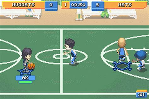 Backyard Basketball Free by Play Backyard Sports Basketball 2007 Nintendo Boy