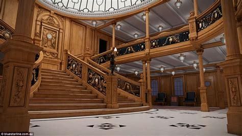 Titanic Interior by Titanic Replica Photos Show How It Will Compare To The