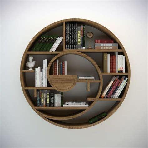 circular bookshelf 3d model max obj fbx cgtrader