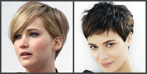 pelos cortos de moda cortes de pelo de moda 2018 peinados elegantes
