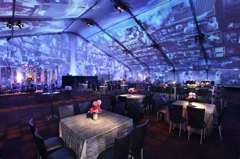 Restaurant Dining Room projection mapping samantha sackler productionssamantha