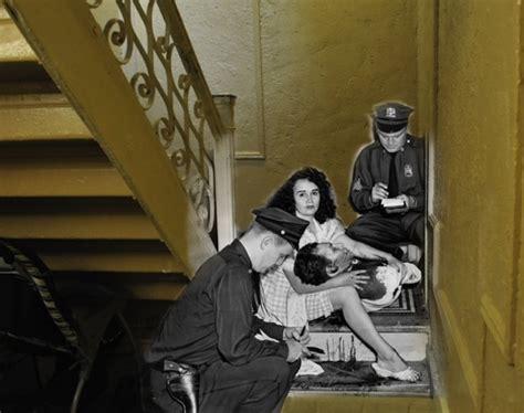 vintage crime photos vintage crime photos superimposed on modern ny
