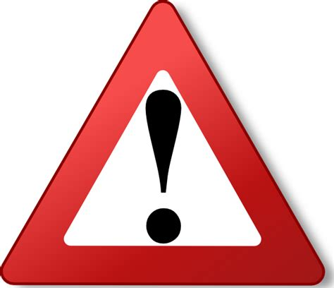 Warning Signs After Section by Warning Sign Gif Clipart Best