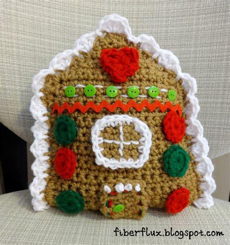 free crochet pattern gingerbread house fiber flux free crochet pattern gingerbread house throw