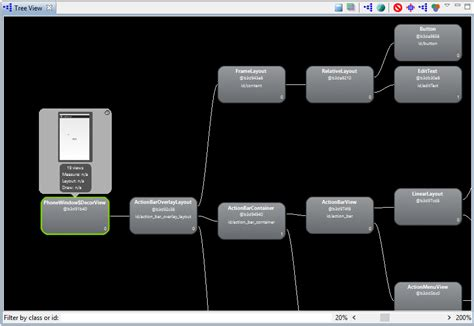 android studio layout tree designing a user interface using the android studio