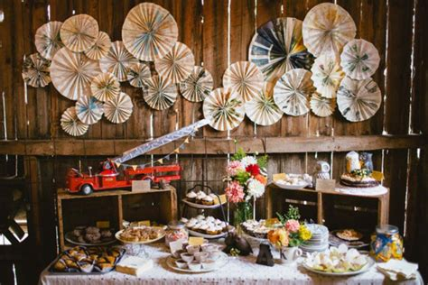 Southern Home Decor Blogs reality check rustic chic dessert table weddbook