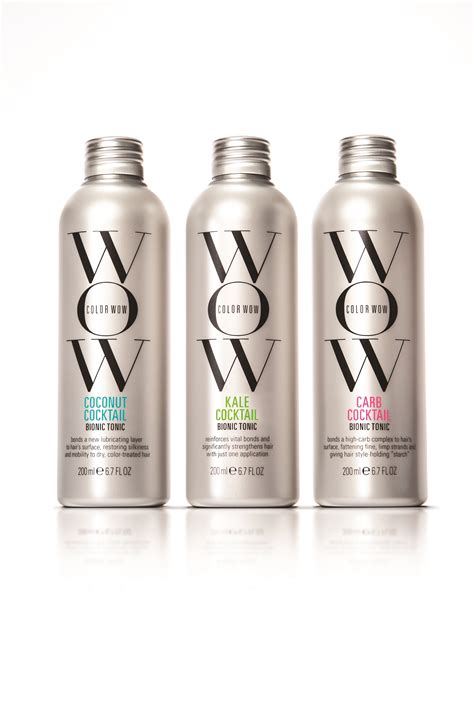 category hair products color wow debuts new leave in hair supplement bionic tonics