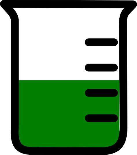beaker clip green beaker clip at clker vector clip