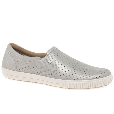hotter womens casual slip on shoes from