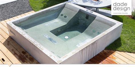 Outdoor Whirlpool Selber Bauen by Dade Design Concrete Dade Hostone