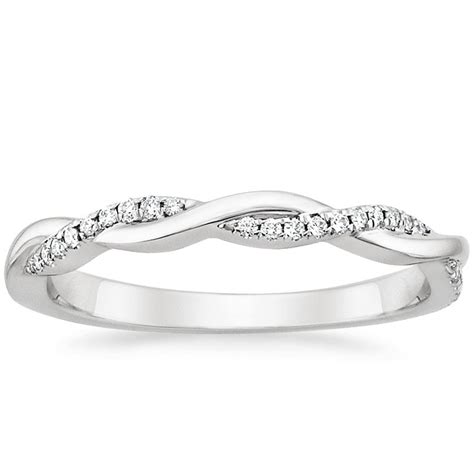 Petite Twisted Vine Diamond Ring   Brilliant Earth