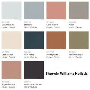 ibm 2017 color palette sherwin williams holistic color palette 2017 interiors