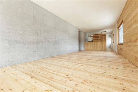 Hardwood Floor On Concrete Different Flooring Options Concrete Ehow