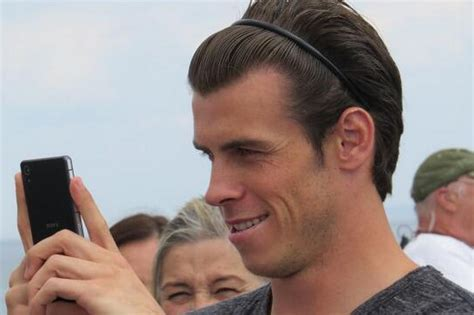 how to get gareth bale long hairstyle gareth bale shoots new video on penarth pier wales online
