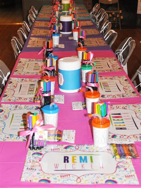 arts and crafts ideas for arts crafts birthday ideas photo 9 of 56 catch