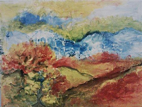 Art Dinca | landscapes painting by farfallina art gabriela dinca