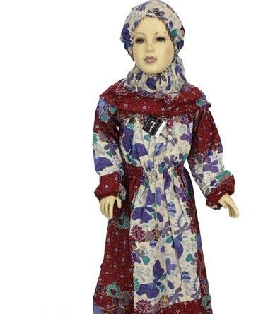 Gamis Muslim 4 model baju batik untuk anak anak batik indonesia