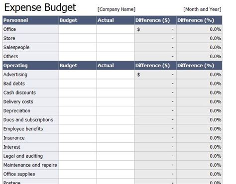 spreadsheet for monthly expenses bookkeeping spreadsheet