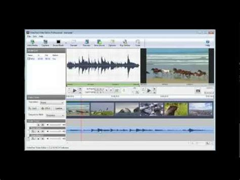 tutorial penggunaan videopad video editor videopad video editing software tutorial v2 12 youtube