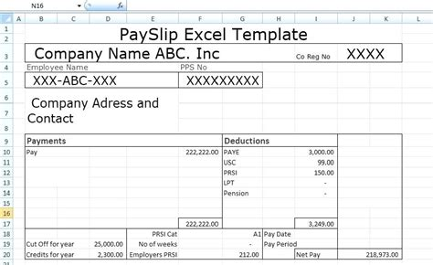 editable payslip template editable payslip template south africa printable pay stub