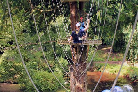 high vees rope course
