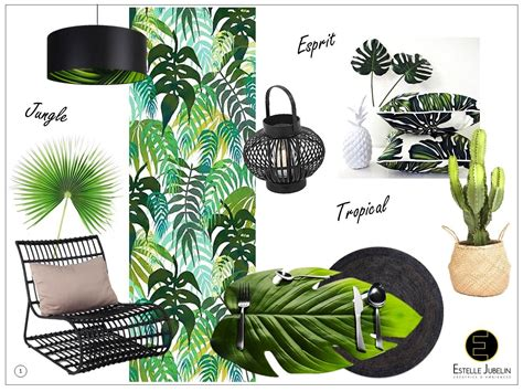 Decoration Interieur Tropical by Venez D 233 Couvrir L Univers D 233 Co Tr 232 S Tendance De Cette