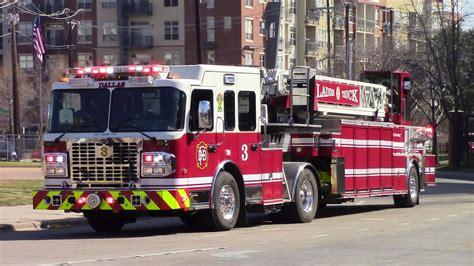 dallas adoption dallas rescue truck 3 responding horn